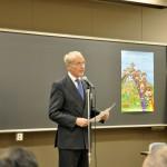 クーベルタン生誕150周年記念特別講演講師のアントワン・ド・ナヴァセル氏(CIPC理事)
